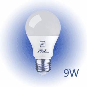 لامپ حبابی ۹ وات ساروز مهتابی